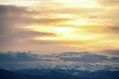 Photograph - Mountain Sun by Tyson Kinnison