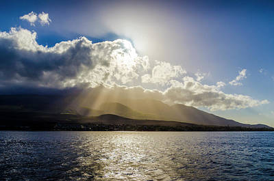 Photograph - Mountain Sunbeams by Daniel Murphy