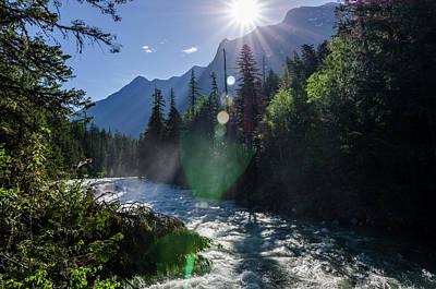 Photograph - Mountain Sunburst by Margaret Pitcher