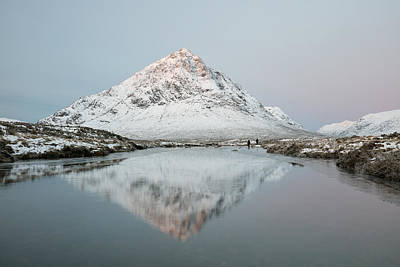 Stob Dearg Photograph - Mountain Sunrise by Grant Glendinning