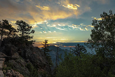Photograph - Mountain Sunrise by Sean Allen