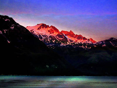 Photograph - Mountain Sunset by Bill Howard