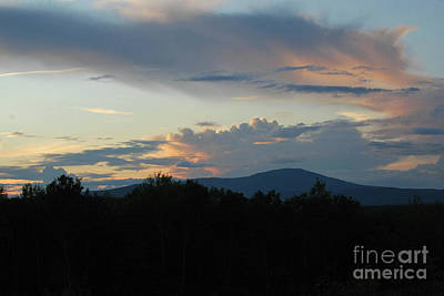 Photograph - Mountain Sunset by Terri Oberg