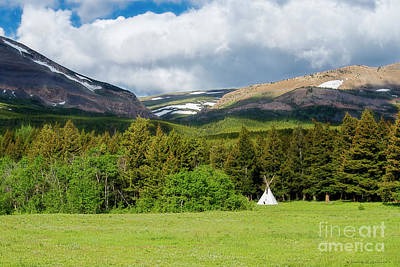Photograph - Mountain Teepee by David Arment
