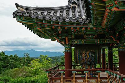 Photograph - Mountain Temple by Roy Cruz