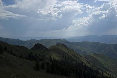 Photograph - Mountain Top 2 by Sara Stevenson