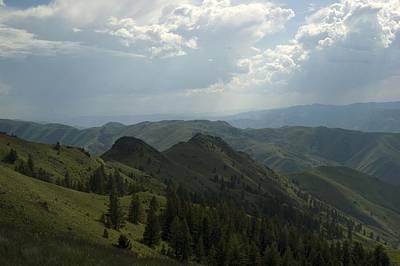 Photograph - Mountain Top 5 by Sara Stevenson