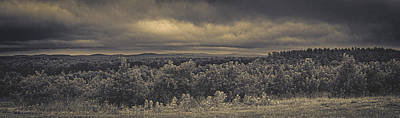 Photograph - Mountain Top Apple Orchard by Bob Orsillo