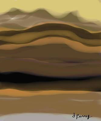 Mountain Top Art Print by D Perry