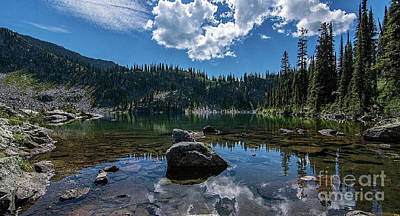Photograph - Mountain Top Lake by Rod Jellison