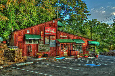 Photograph - Mountain Top Store Lookout Mountain Chattanooga Tennessee Art by Reid Callaway