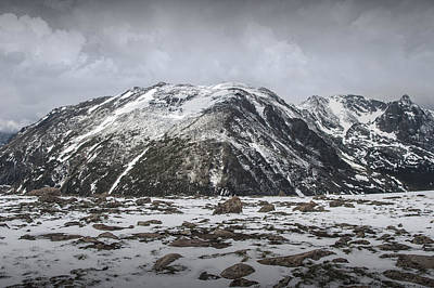 Photograph - Mountain Tops In Rocky Mountain National Park by Randall Nyhof