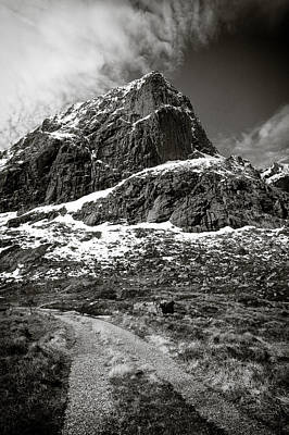 Mountain Royalty-Free and Rights-Managed Images - Mountain Track by Dave Bowman