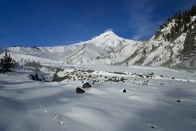 Mt Hood Photograph - Mountain Tracks by Mike  Dawson