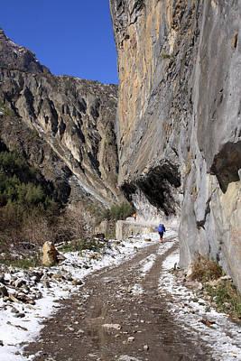 Photograph - Mountain Trail by Aidan Moran