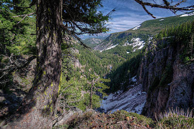 Photograph - Mountain Valley by Patrick Groleau