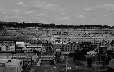 Photograph - Mountain Valley Town by Roberta Byram