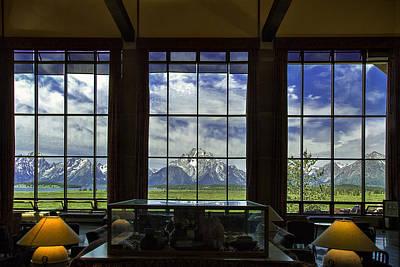 Teton Wall Art - Photograph - Mountain View by Andrew Soundarajan