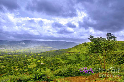 Photograph - Mountain View by Charuhas Images