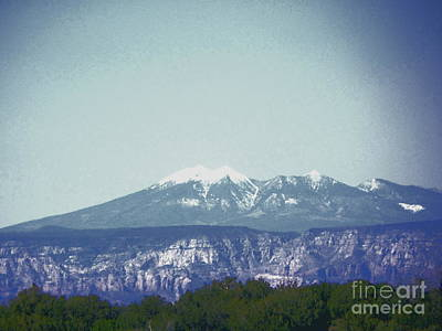 Photograph - Mountain View by Debbie Wells
