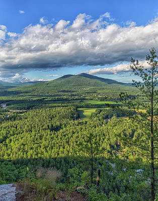 Photograph - Mountain View From Cathedral Ledge by Brian MacLean