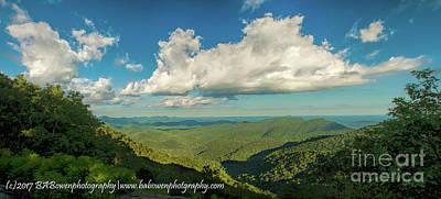 Photograph - Mountain View From Preachers Rock by Barbara Bowen