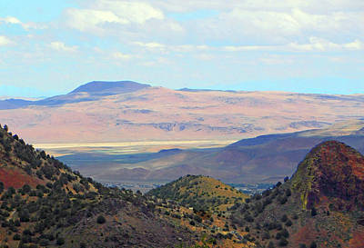 Photograph - Mountain View From Virginia City Nevada by Emmy Vickers