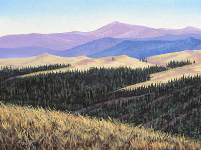 Painting - Mountain View by Gene Foust
