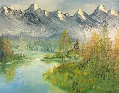 Mountain View Glen Art Print