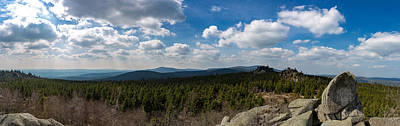 Photograph - mountain view, Harz by Andreas Levi