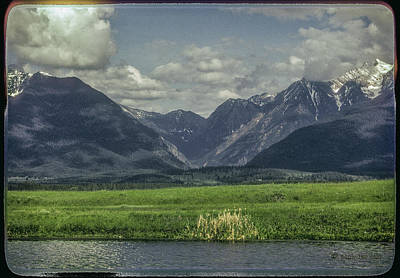 Photograph - Mountain View Montana.... by Paul Vitko