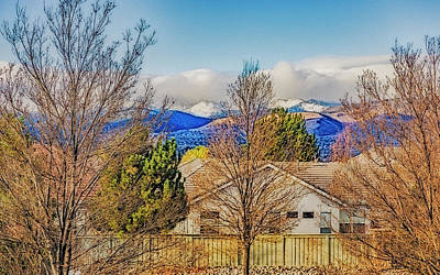 Photograph - Mountain View by Nancy Marie Ricketts