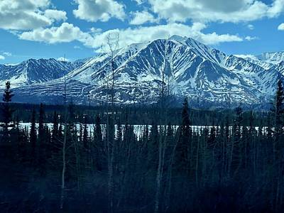 Photograph - Mountain View by Tony Mathews
