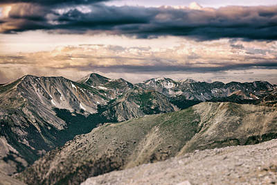 Photograph - Mountain Vista by Garett Gabriel
