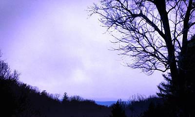 Digital Art - Mountain Vista by Gina Harrison