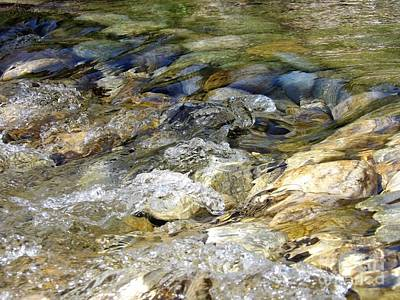 Photograph - Mountain Water by L Cecka