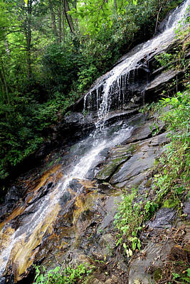 Photograph - The Cascades Waterfall by Meta Gatschenberger