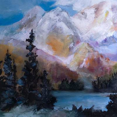Painting - Mountain Wilderness  by Michele Carter