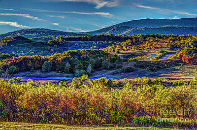 Photograph - Mountains 1631hdr by Doug Berry