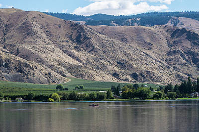 Photograph - Mountains Above, River Below by Tom Cochran