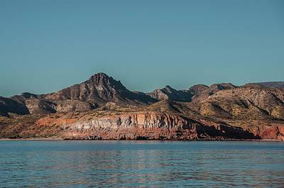 Photograph - Mountains And Cliffs Baja Mexico by NaturesPix