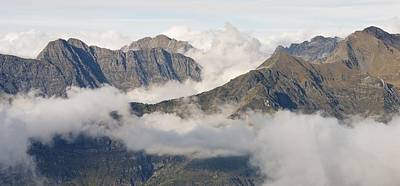 Photograph - Mountains And Cloud by Stephen Taylor
