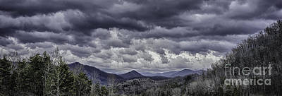 Photograph - Mountains And Clouds In Western North Carolina 3 by Walt Foegelle