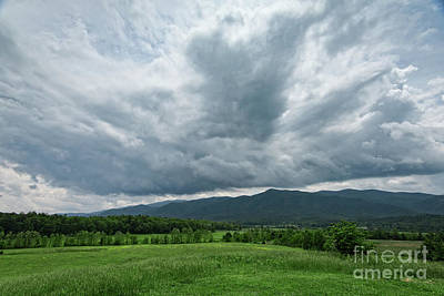 Photograph - Mountains And Clouds by Nicki McManus