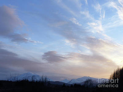 Photograph - Mountains And Sky by Phil Banks
