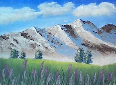Painting - Mountains by Brenda Bonfield