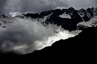 Photograph - Mountains Clouds 9950 by Marco Missiaja