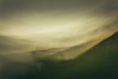 Icm Photograph - Mountains From Molehills IIi by Chris Dale