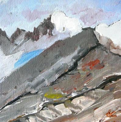 Altitude Painting - Mountains I by Dagmar Batyahav