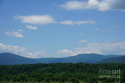 Photograph - Mountains In Charlottesville Virginia by Jimmy Clark